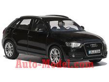 1:43 Schuco 2013 Audi Q3 Phantom Black Dealer Edition