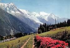 France Chamonix Mont Blanc L'Aiguille du Midi Le Mont Blanc Voitures