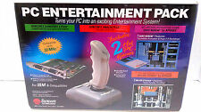 New Suncom IBM PC Gamecard, Deluxe Joystick, w/ Duke Nukem & Major Stryker Games