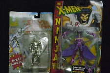 1992 Marvel action Figure The Silver Surfer ToyBiz Space Ninja Deathbird 5+