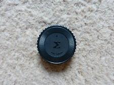 SIGMA for Canon FD mount Obiettivo COPERCHIO obiettivo rückdeckel LENS COVER CAP TAPPO