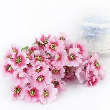1 Bunch Fake Oriental Cherry Artificial Flower Blossom Bouquet Decor Pink