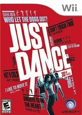 Just Dance [Nintendo Wii, NTSC, Ubisoft Original Music Dancing Video Game] NEW