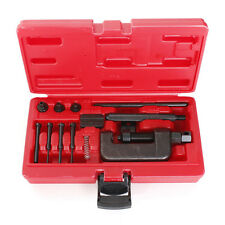 Motorbike Motor Chain Breaker Splitter Link Riveter Riveting Repair Set Tool Kit