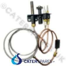 BLUE SEAL GAS FRYER GT45 GT46 THERMOPILE & THERMOCOUPLE ELECTRODE PILOT SET KIT
