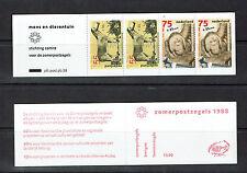 """NETHERLANDS / NIEDERLANDE BOOKLET 1988 PB38 mnh """"ZOO"""" E138a"""