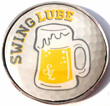 Swing Lube Golf Ball Marker - Package of 2