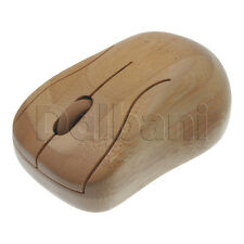 New Wireless Bamboo Mouse Desktop Laptop PC Mac