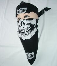 12 pieces Skull Jaw Bone Bandana Head Wrap Paintball Face Mask Biker Scarves