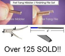 GeetarGizmos FRET TANG NIBBLER and FILE SET Guitar Luthier Tool Nipper