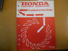 1978 Honda H/C 70025 Portable Generator Troubleshootinng Guide