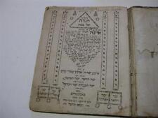 1783 Amsterdam PASSOVER HAGGADAH with Kabbalah ARBA YESODOT Judaica Jewish book