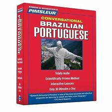 Pimsleur Quick & Simple Portuguese Brazilian Conversational, Audio 4 Disc!