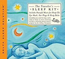 TRAVELER'S SLEEP KIT - Jeffrey Thompson . NEW .insomnia