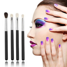 4tlg Lidschatten Pinsel Set Blending Brush Blender Make Up Eyeshadow