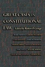 Great Cases in Constitutional Law-ExLibrary