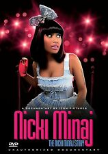 DVD:NICKI MANAJ STORY - MINAJ NICKI - NEW Region 2 UK