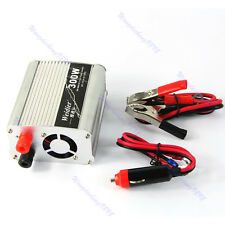 DC 12V to AC 220V 300W Car Truck Boat USB Power Inverter Converter Charger