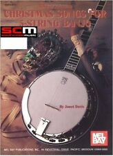 Mel Bay Christmas Songs for 5-String Banjo SONG BOOK SONGBOOK XMAS BLUEGRASS