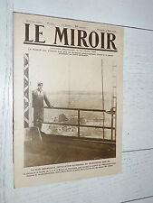 MIROIR 03/03 1918 GUERRE 14/18 TSF NAUEN USA ITALIE PIAVE TRANCHEES ALSACE