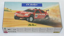 Heller Plastic Model Kit: Citroen ZX Rally Car. 1:43 Scale COMPLETE