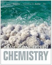 BASIC CONCEPTS OF CHEMISTRY - NEW HARDCOVER BOOK