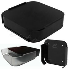New Black Wall Mount Case Bracket Holder Tray For Apple TV 2 3 & AirPort Express