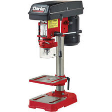 CLARKE CDP5RB 5 Speed 620 - 2620 RPM Bench Mounted Pillar Drill 350W 230v Red