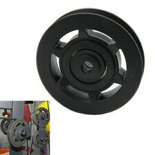 Durable Wearproof 95mm Universal Bearing Pulley Wheel Cable Gym Equipment Part