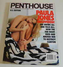 PENTHOUSE 12/2000 PAULA JONES...THE WAR AGAINST MEN...HANK WILLAIMS 3.  PH88
