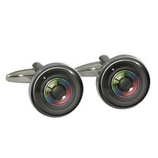 Novelty Camera Lens Cufflinks Cuff Links New in Box
