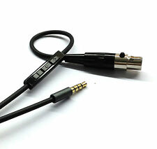 New Cable with Remote & Mic for iphone to AKG Q701 K702 K271s 240s Headphones