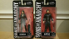 Mezco Sons of Anarchy SOA OPIE & GEMMA figures Entertainment Earth Exclusives