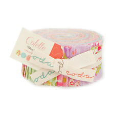 """Moda FABRIC Jelly Roll ~ COLETTE ~ by Chez Moi  40 - 2.5"""" strips"""