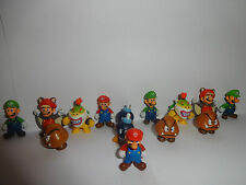 SUPER MARIO CHARACTERS CUPCAKE TOPPERS 14 FIGURES BRAND NEW FREE P+P