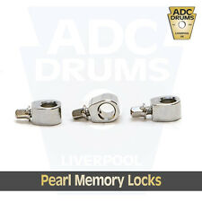 9.5 mm Floor Tom Leg Memory Locks (Lock 3 Pack - LG-04S): Pearl/Ludwig