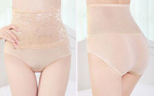 Women Bodyshaper Hip Abdomen Tummy Control Brief High Waist Underwear Beige