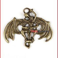 1pz antichizzate steampunk gotico teschio scheletro male collana ciondoli 140950
