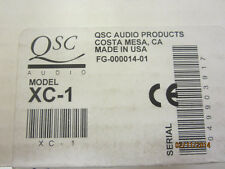 QSC XC-1 Electronic Audio Cinema Crossover Unused ! NIB