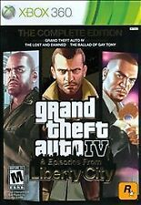 Grand Theft Auto IV 4 The Complete Edition GAME BOTH DISCS Microsoft Xbox 360