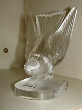 Lalique Clear Crystal / Cristallo Swallow (Hirondelle) Paperweight 1181000