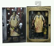 """Neca Ultimate Leatherface Texas chainsaw massacre 40th Anniv 7"""" action figure"""