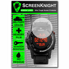 ScreenKnight Garmin Fenix 2 SCREEN PROTECTOR invisible military shield
