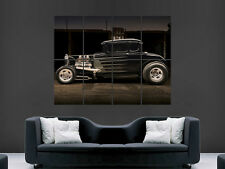 HOT ROD CAR MACHINE POSTER ENGINE USA PRINT IMAGE GIANT PICTURE