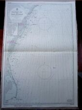 "1970 USA Delaware Bay to Cape Hatteras - Admiralty Map 28"" x 41"" D84"
