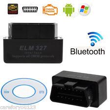 Bluetooth ELM327 V2.1 ODB2 ODB-II Wireless Car Auto Diagnostic Scan Scanner USB