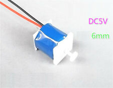 1pcs DC 5V 6mm Push Pull Type Electromagnet Magnet Solenoid For DIY Accessories