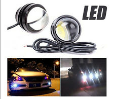 2X 15W Eagle Eye Lamp Daylight LED DRL Fog Daytime Running Car Light Tail Light
