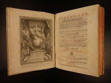 1720 1st ed Palace of Versailles Gardens Illustrated Architecture ART Monicart