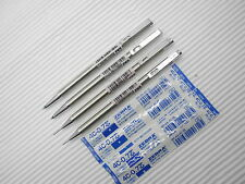2xT-3 & 2xTS-3  Zebra mini 0.7mm ball pen & 0.5mm pencil free 2 refill Blue(Japa